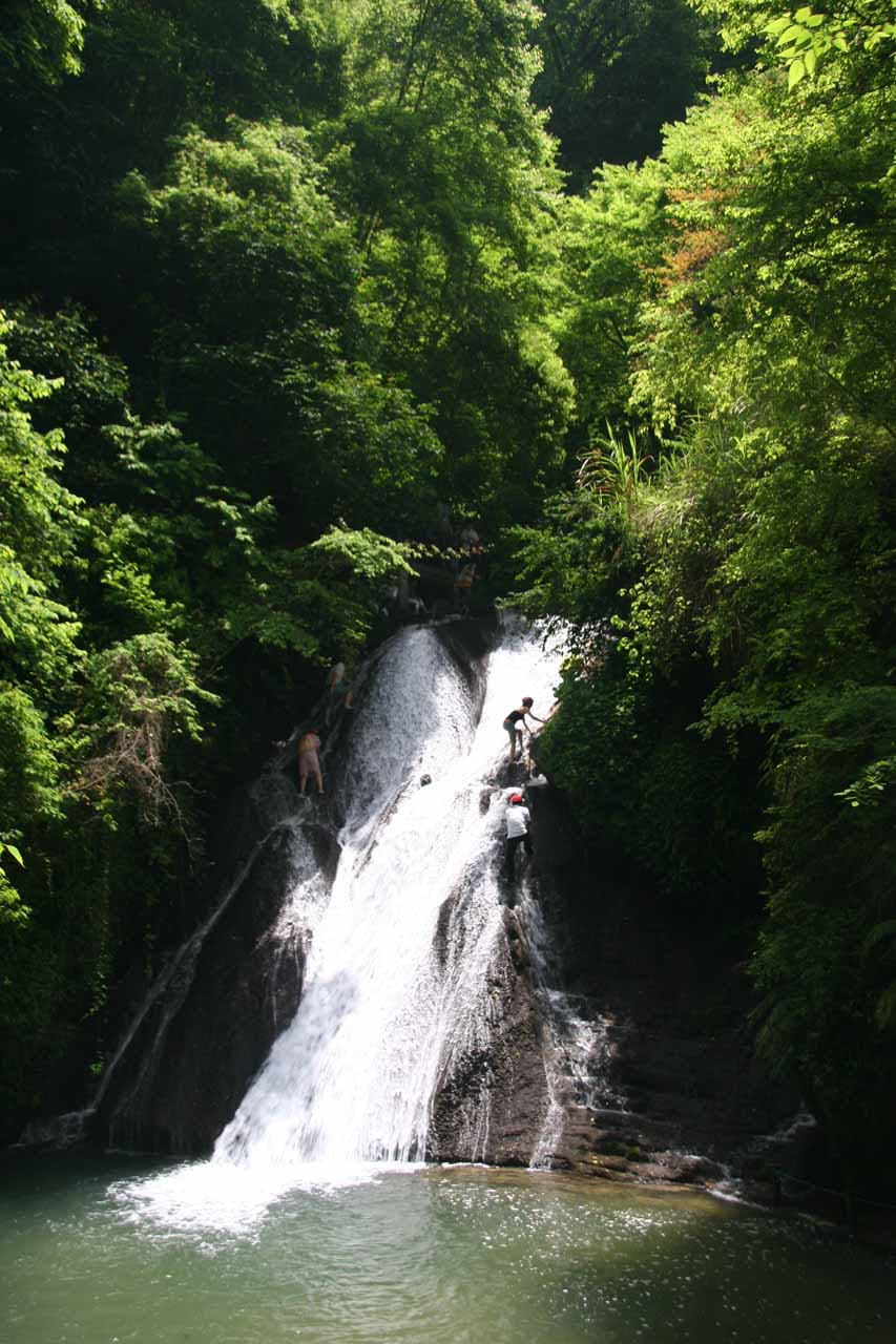 One of the Gudong Waterfalls