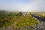 Gufufoss_001_08092021 - Context of Route 93 and Gufufoss as seen in August 2021