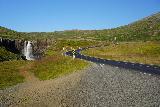 Gufufoss_104_08102021 - Context of Gufufoss and the Seydisfjordur Road