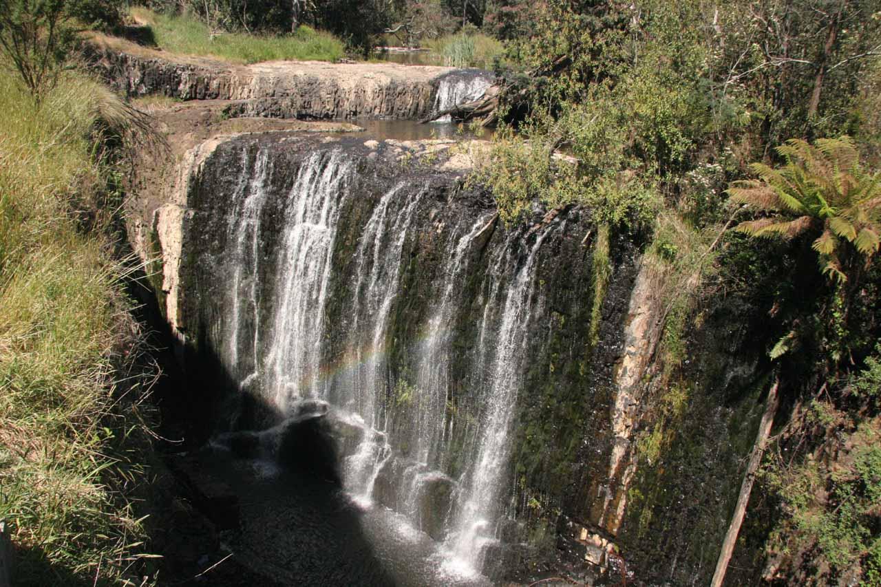Direct look at Guide Falls