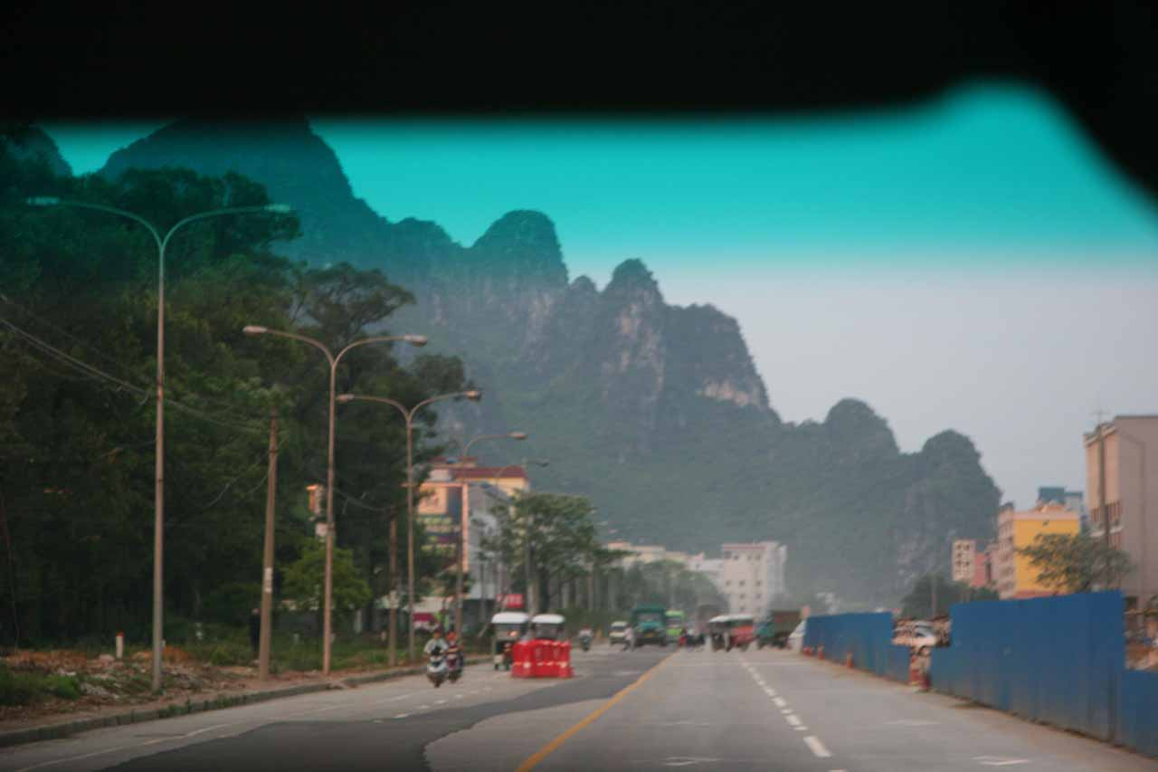 On the way to Guilin