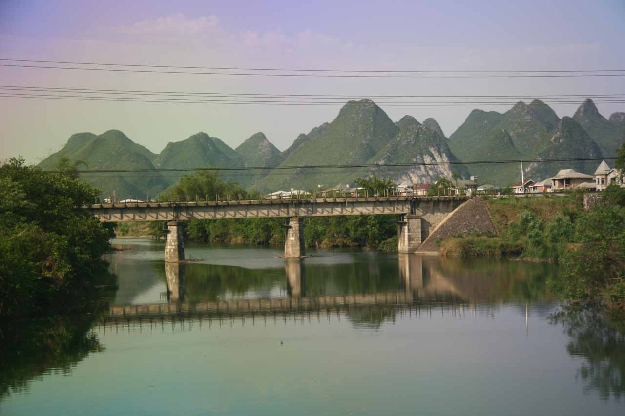 One of the bridges at Guilin