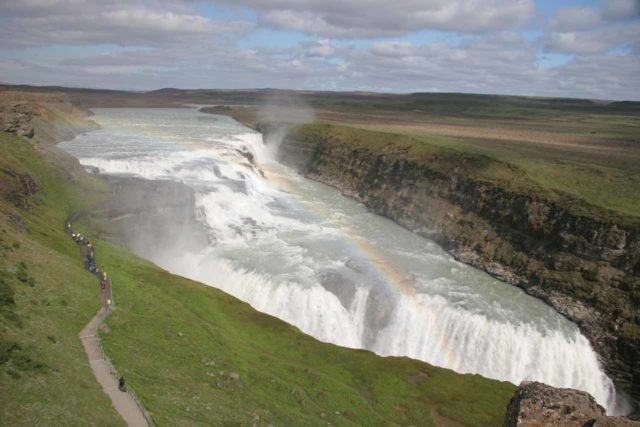Gullfoss_181_06222007 - Gullfoss and rainbow