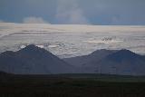 Gullfoss_telephoto_001_08062021 - Telephoto view of part of the Langjokull Glacier as seen from the upper car park for Gullfoss