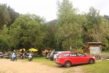 Gunstner_Waterfall_109_07152018 - Back at the car park for the Guenstner Waterfall where a lot more people showed up at this time