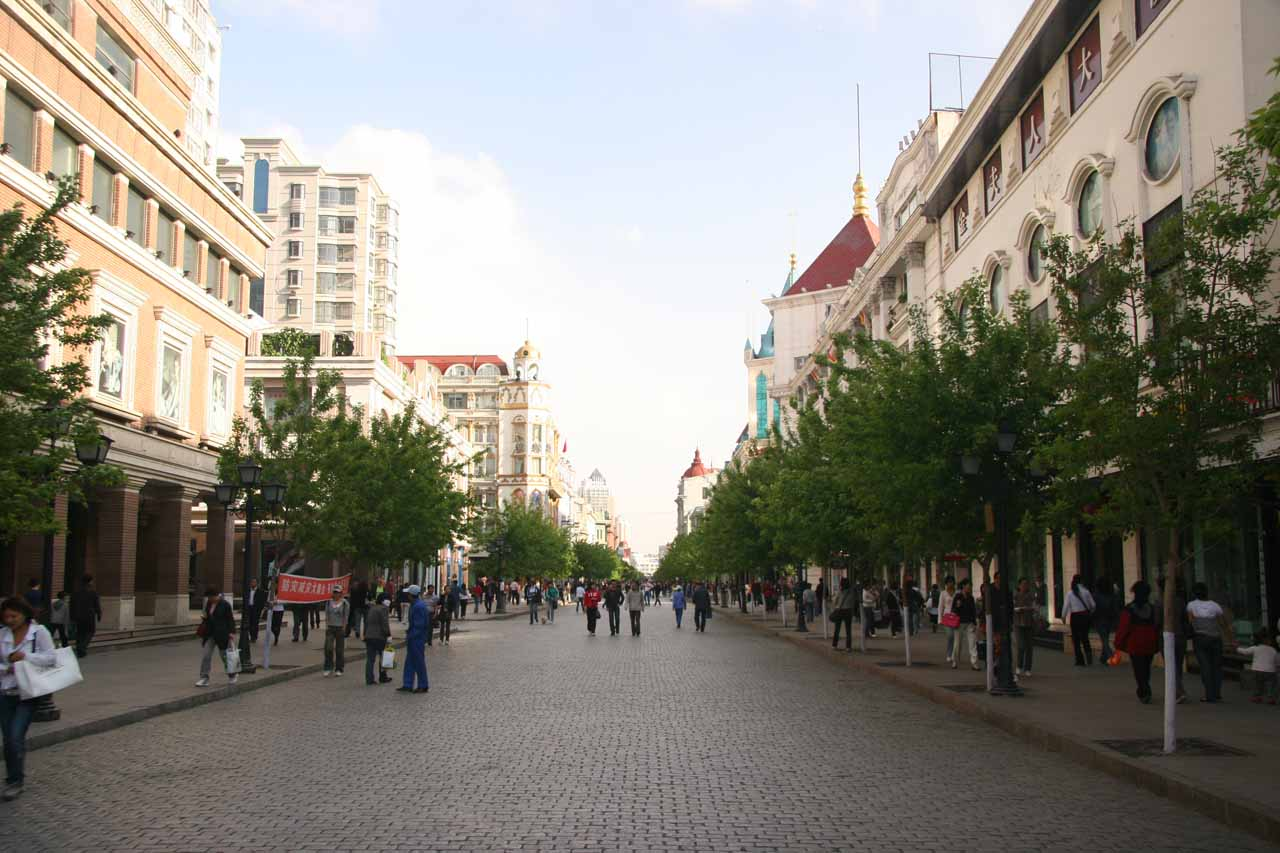 Central Avenue in Haerbin