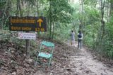 Haew_Sai_002_12272008 - Embarking on the signposted detour to the less popular Haew Sai Waterfall
