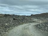 Hafragilsfoss_West_001_iPhone_08132021 - On the rough spur road leading to the west side car park for Hafragilsfoss