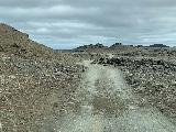 Hafragilsfoss_West_002_iPhone_08132021 - On the rough spur road leading to the west side car park for Hafragilsfoss