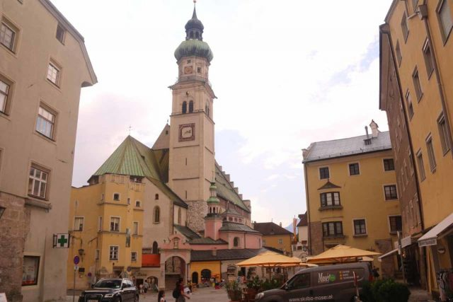 Hall_in_Tirol_029_07202018 - A few minutes drive east of Innsbruck was the compact old town of Hall in Tirol, which was a nice and quiet place to stroll around due to its compactness