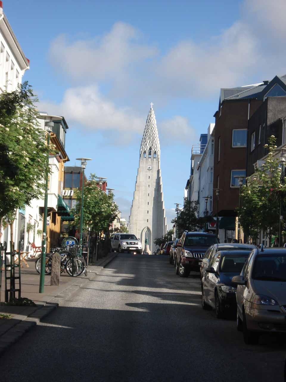 Back in Reykjavik with Hallgrimskirkja in the distance