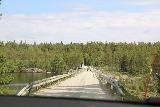 Hallingsafallet_125_07112019 - On the dam bridge out of the Bagedeforsen area and back onto the Road 342