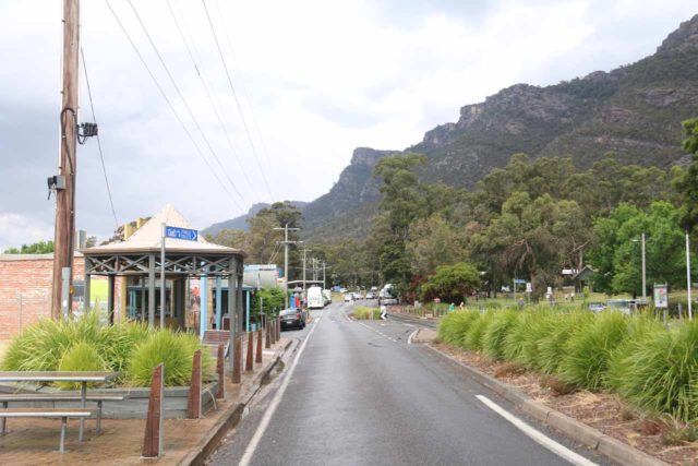 Halls_Gap_007_11142017 - This was the main throughfare of Halls Gap, which had most of the shops on one side and tall mountains towering over the area on the other