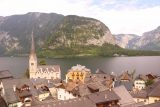 Hallstatt_549_07052018 - View over Hallstatt towards Hallstattersee from the Parkterrase