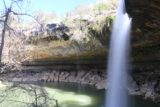 Hamilton_Pool_198_03122016 - Looking back at the profile of the Hamilton Pool Waterfall showing the alcove that I had walked through to get here