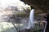 Hamilton_Pool_216_03122016 - Looking back at the Hamilton Pool Waterfall after having gone behind it