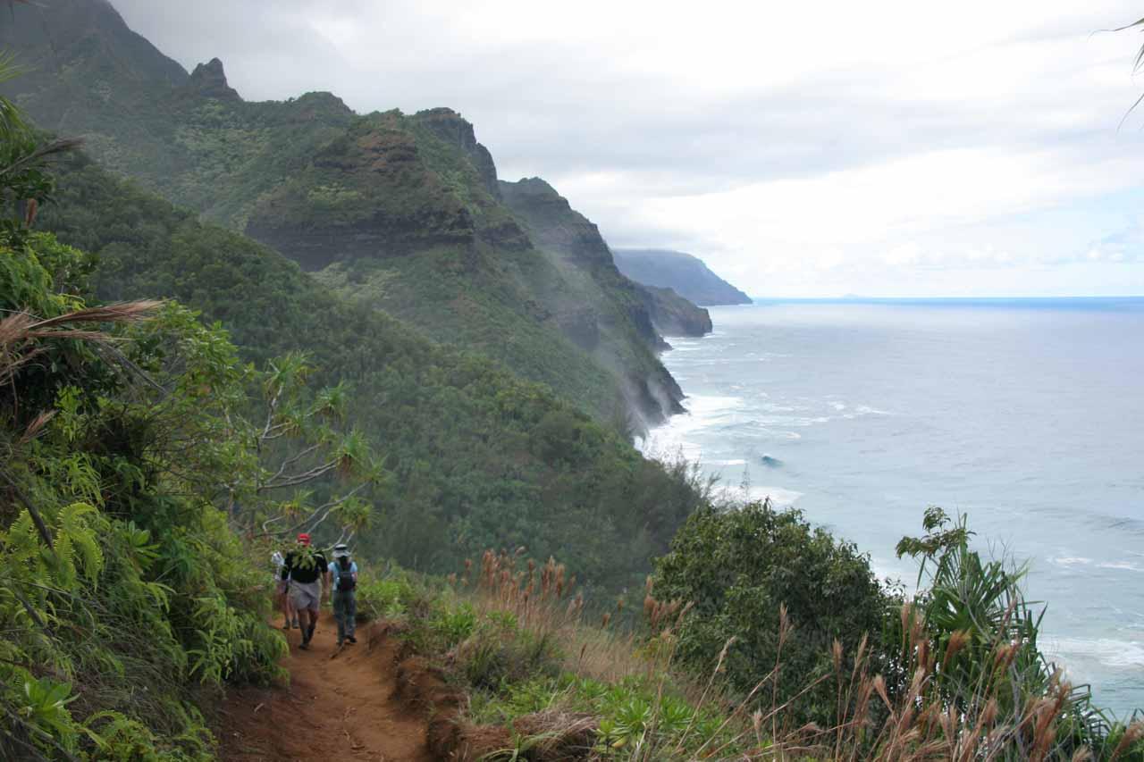 The Kalalau Trail and the Na Pali Coast