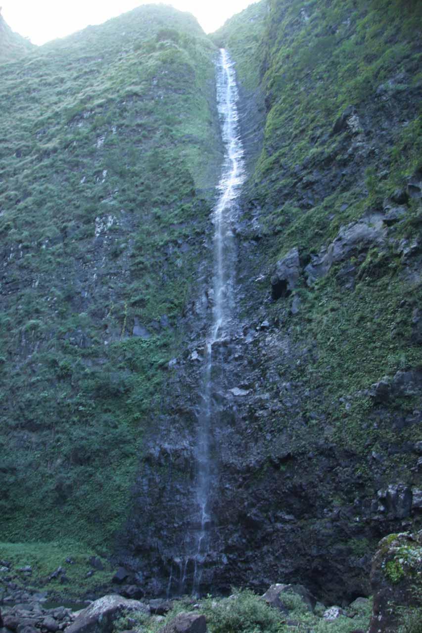 Last look at Hanakoa Falls