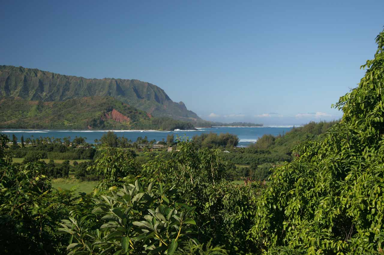 View of Hanalei Bay