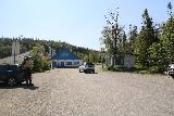 Handolsforsen_001_07122019 - Arriving at the free car park for Handolsforsen looking towards the end of the road