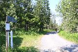 Handolsforsen_006_07122019 - Starting on the 250m walk from the car park to the upper power station by Handölsforsen