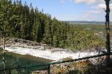 Handolsforsen_037_07122019 - Looking over the hydro facility as we were queueing up to cross the swinging bridge over Handolsforsen