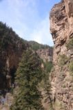 Hanging_Lake_174_04182017 - Looking back down towards a different canyon just as the last ascent up to Hanging Lake was commencing