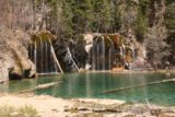 Hanging_Lake_183_04182017 - Our first look at the Bridal Veil Falls at Hanging Lake
