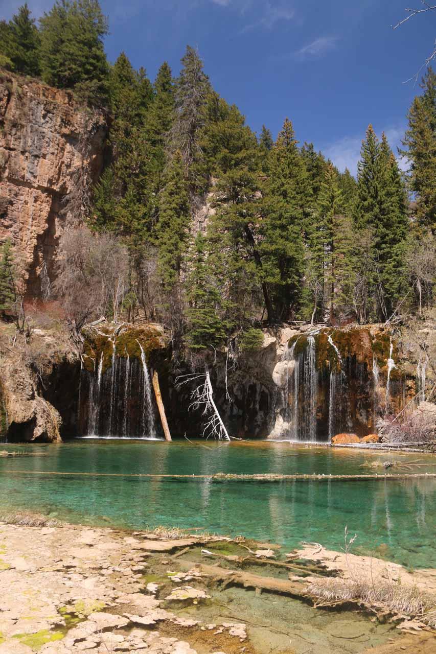 Bridal Veil Falls in Hanging Lake