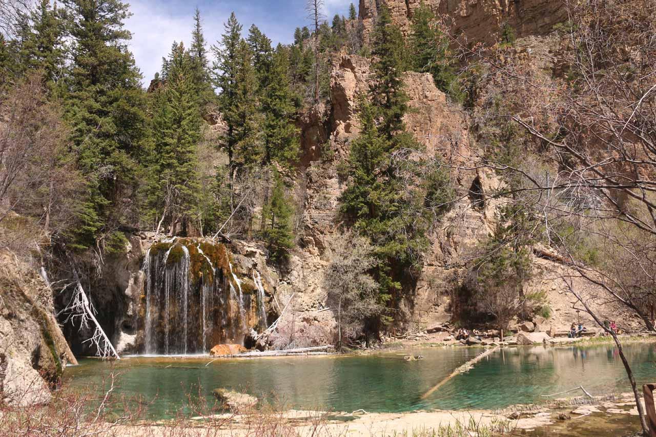 Last look at Hanging Lake and Bridal Veil Falls