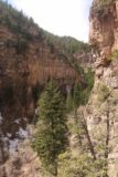 Hanging_Lake_374_04182017 - During the descent from Hanging Lake, we got this look into the canyon carved out by the West Fork Dead Horse Creek