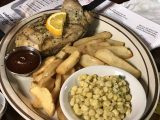 Hanksville_007_iPhone_04012018 - Some chicken that Dad wanted from Duke's Slickrock Grill that was also shared with the kids