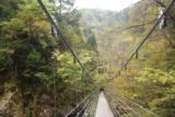 Harafudo_Falls_034_10222016 - On the impressive suspension bridge over Hachijogawa