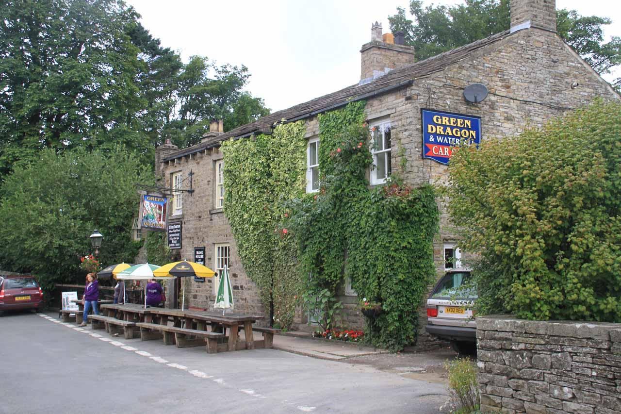 The Green Dragon Inn at Hardraw