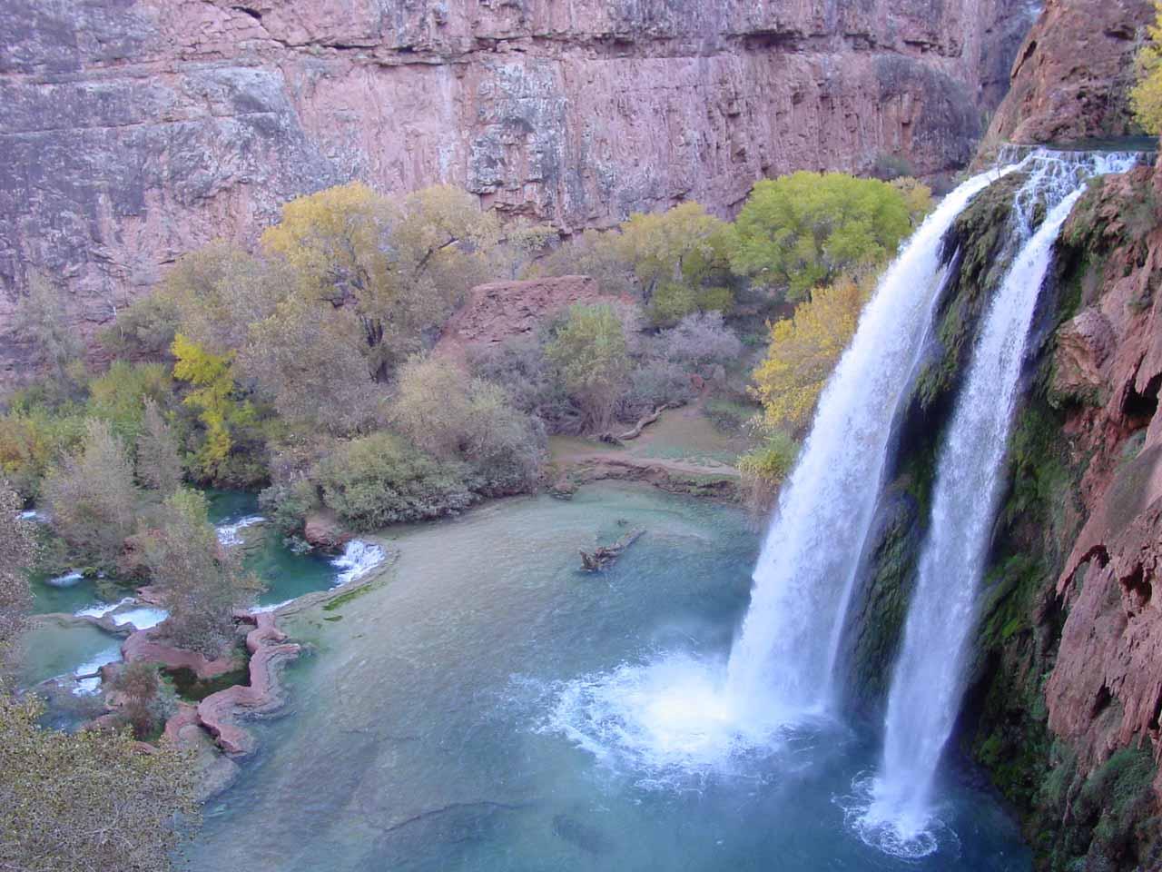 American Southwest Waterfalls