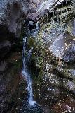 Hayes_Creek_Falls_019_10172020 - Closeup examination of the base of Hayes Creek Falls