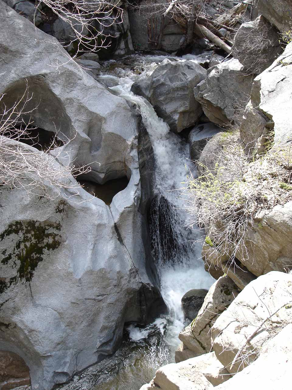 How Heart Rock Falls looked in 2005