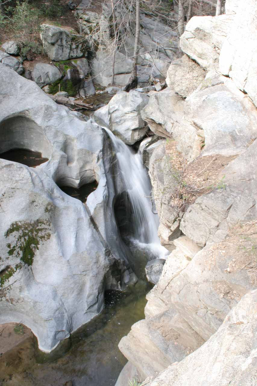 A more contextual look at the heart-shaped depression and the Heart Rock Falls or Seeley Creek Falls