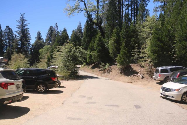 Heart_Rock_Falls_17_004_05202017 - Looking back at the old parking area in 2017, which would have cut the hiking distance from 2 miles round trip (at Hwy 138) to about 1.2 miles round trip
