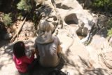 Heart_Rock_Falls_17_101_05202017 - Tahia and Julie enjoying the view of Heart Rock Falls while having a snack during our May 2017 visit