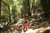 Heart_Rock_Falls_17_119_05202017 - Tahia on the partially shady Heart Rock Trail as we made our return