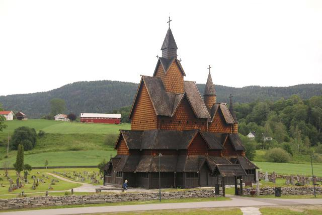 Heddal_Stavkirke_012_06182019 - On the drive from Oslo to Rjukan, we stopped by the attractive Heddal Stave Church, which was one of Norway's larger ones