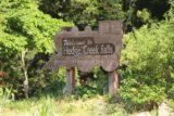 Hedge_Creek_Falls_002_06192016 - A welcoming train-silhouetted sign indicating that we were indeed in the right place for Hedge Creek Falls