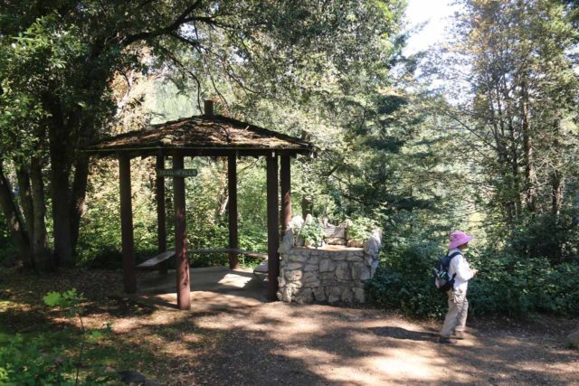 Hedge_Creek_Falls_010_06192016 - The garden and gazeebo near the trail leading down to the Hedge Creek Falls