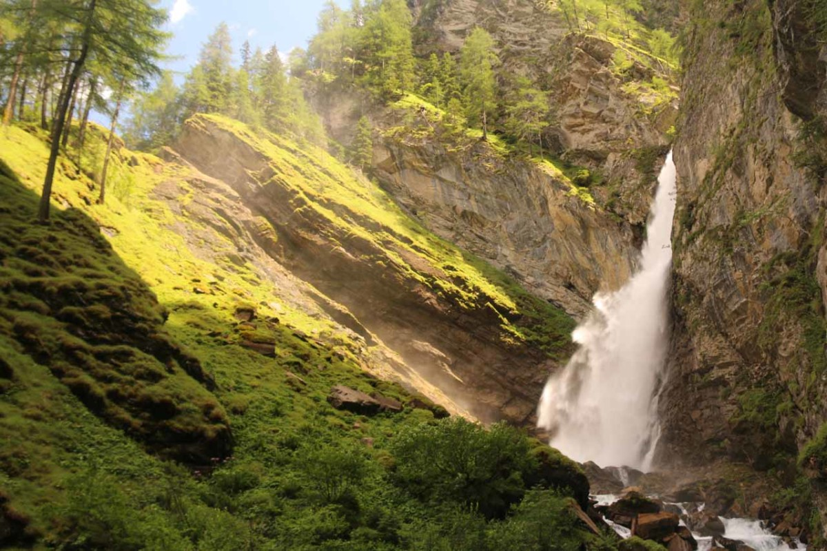 Gossnitz Waterfall
