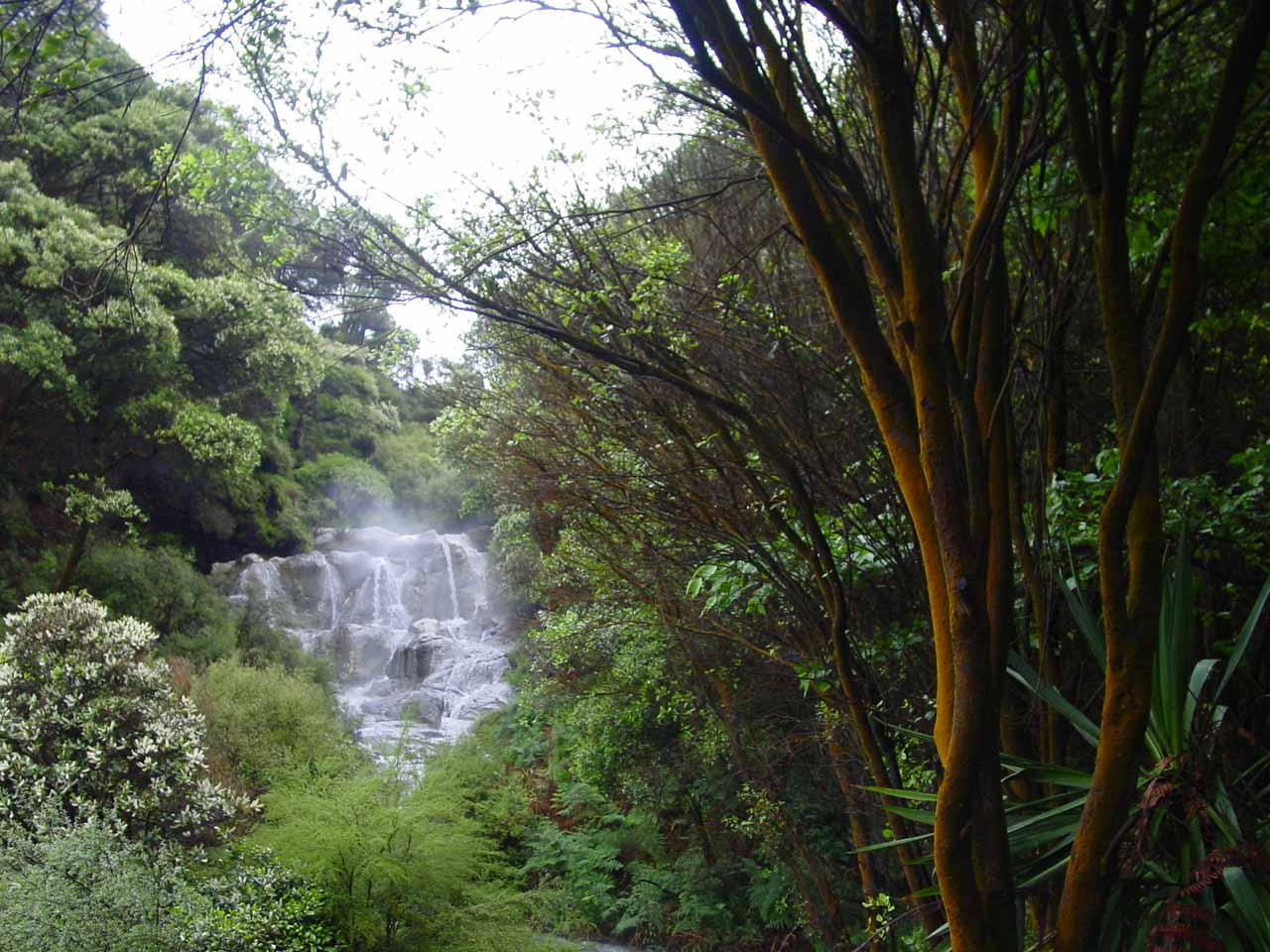 Contextual view of Kakahi Falls