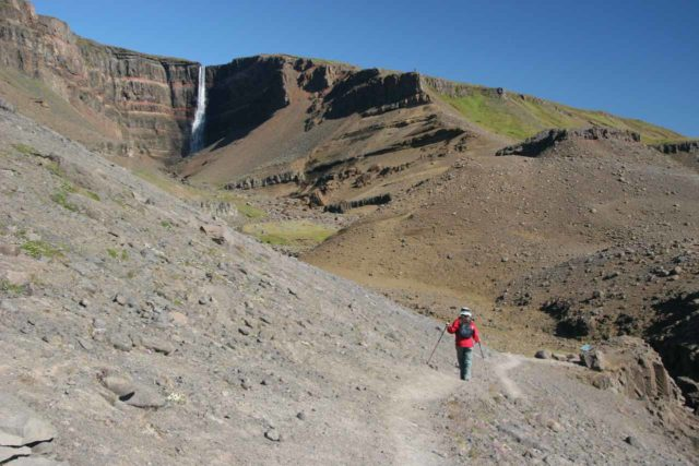 Hengifoss_046_07012007 - Hengifoss (which we had visited earlier in the day) was the waterfall that drew Julie and I to the East Region near Jonsfoss