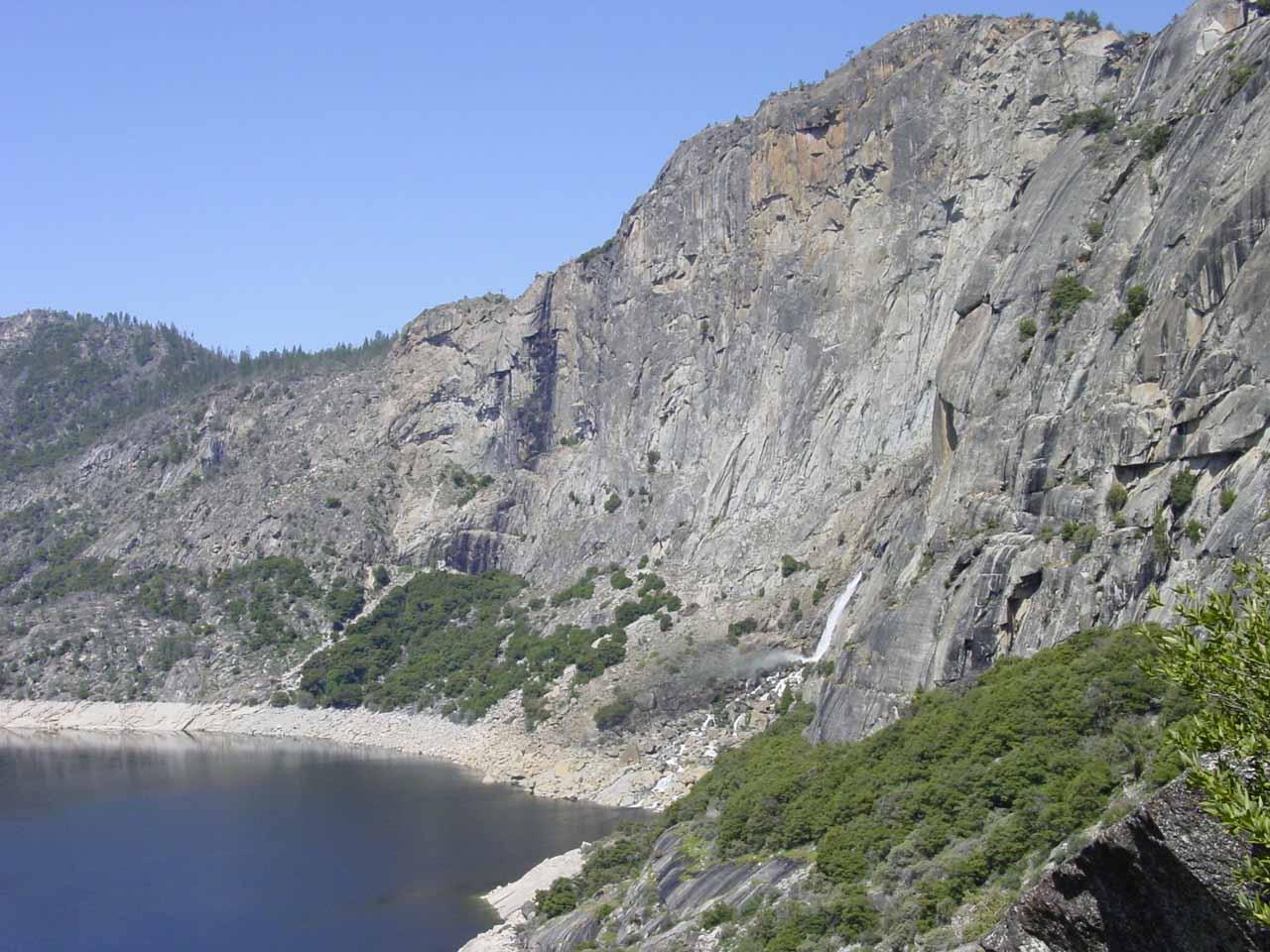Looking back towards both Tueeulala and Wapama Falls