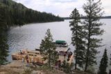 Hidden_Falls_Jenny_Lake_137_08132017 - Looking down at the boat dock on the far end of Jenny Lake