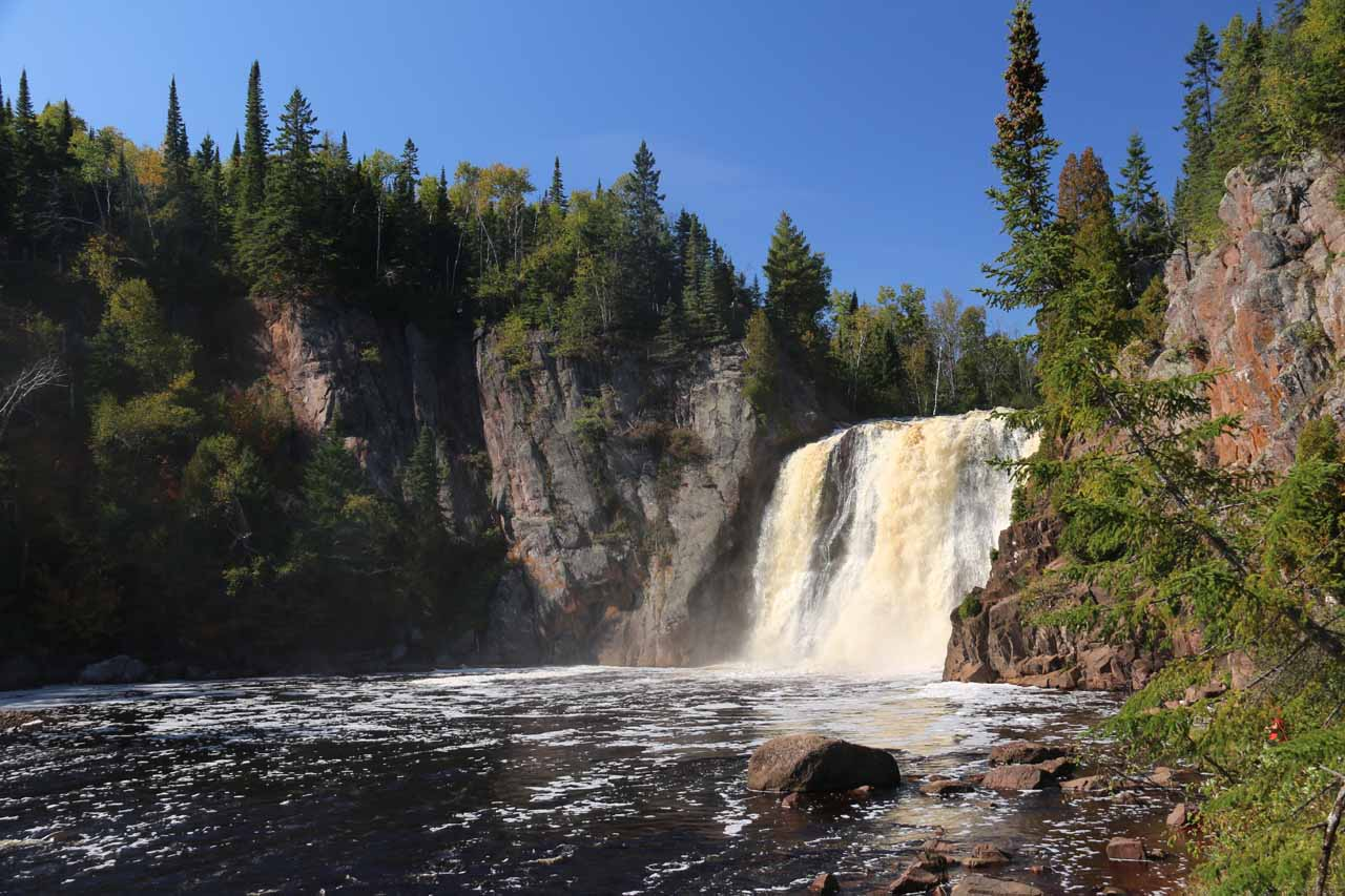 Contextual look at the High Falls of the Baptism River